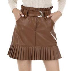 レザーミニスカート画像