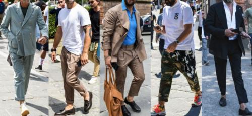 男性の個性別のファッションスタイル